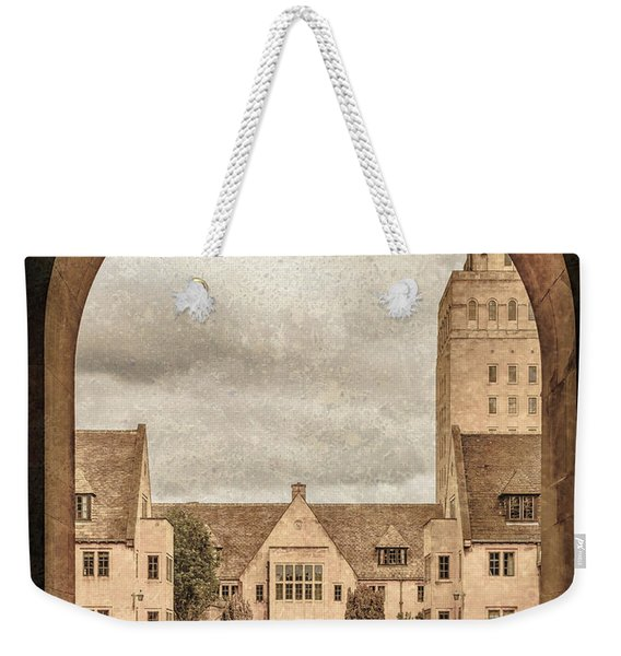 Oxford, England - Nuffield College Weekender Tote Bag