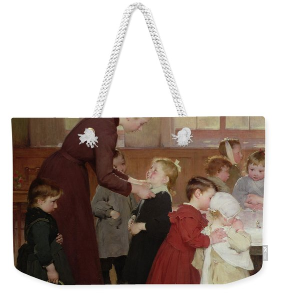 Nursery School Weekender Tote Bag