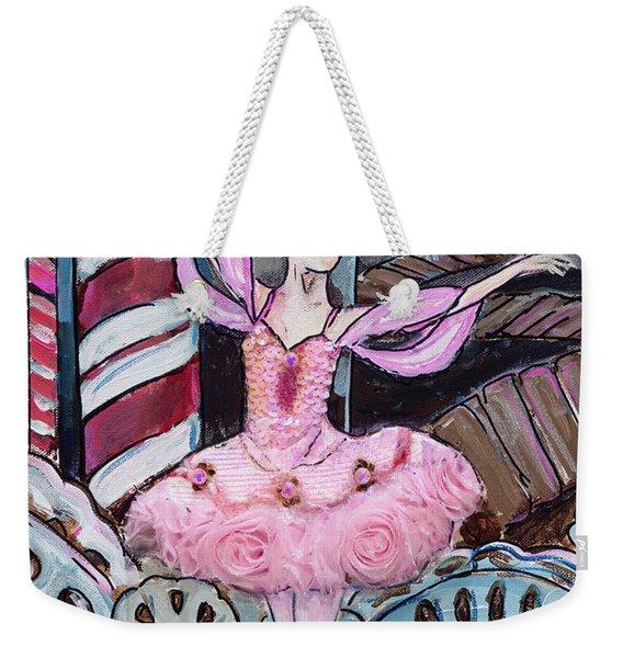 Nutcracker Sugar Plum Fairy Weekender Tote Bag