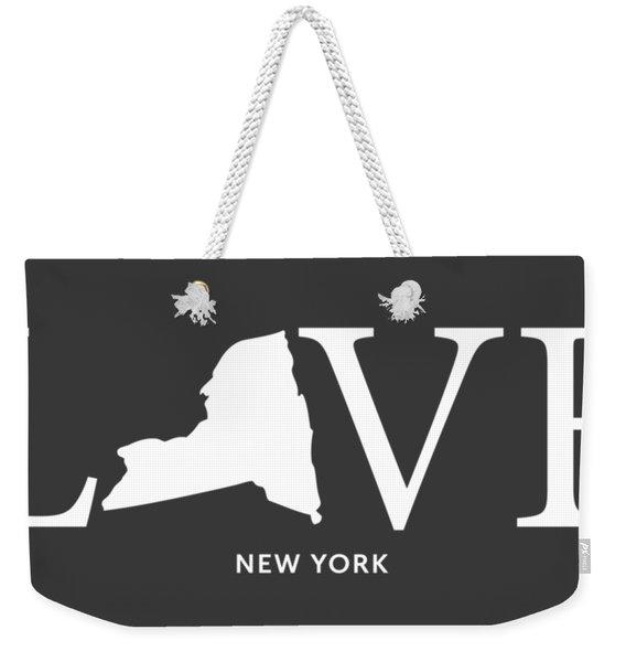Ny Love Weekender Tote Bag