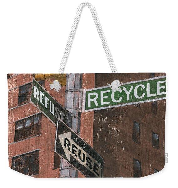 Nyc Broadway 1 Weekender Tote Bag