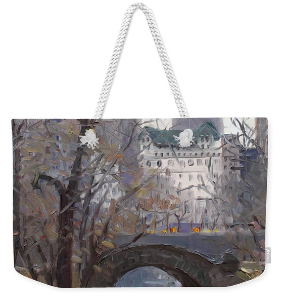 Nyc Central Park Weekender Tote Bag