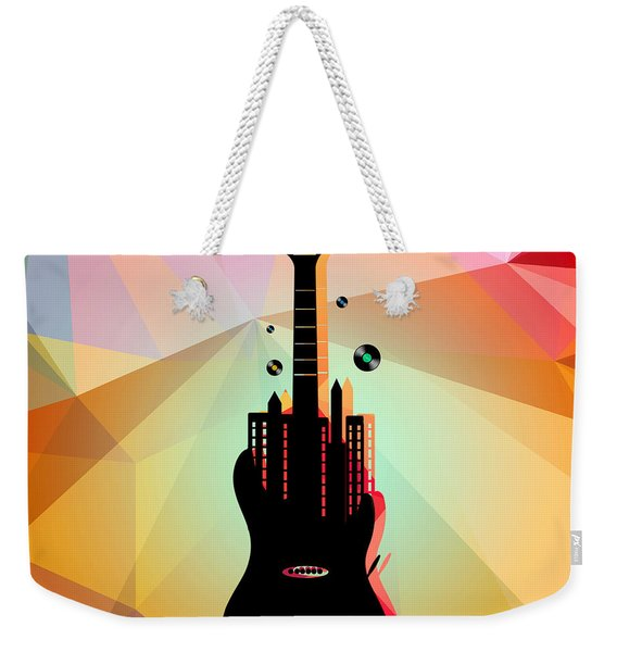 Nyc Music  Weekender Tote Bag