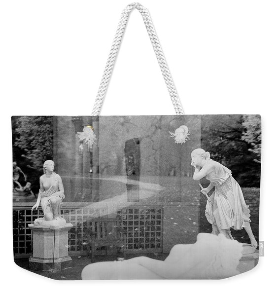 Nyc Whispering Statues Weekender Tote Bag