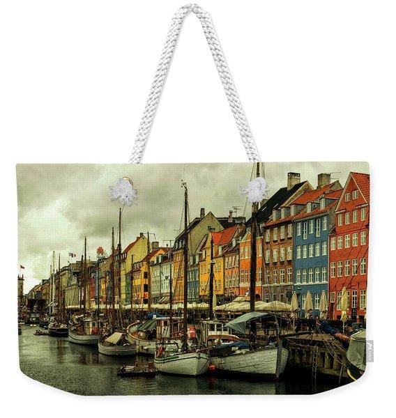 Nyhavn In Copenhagen Weekender Tote Bag