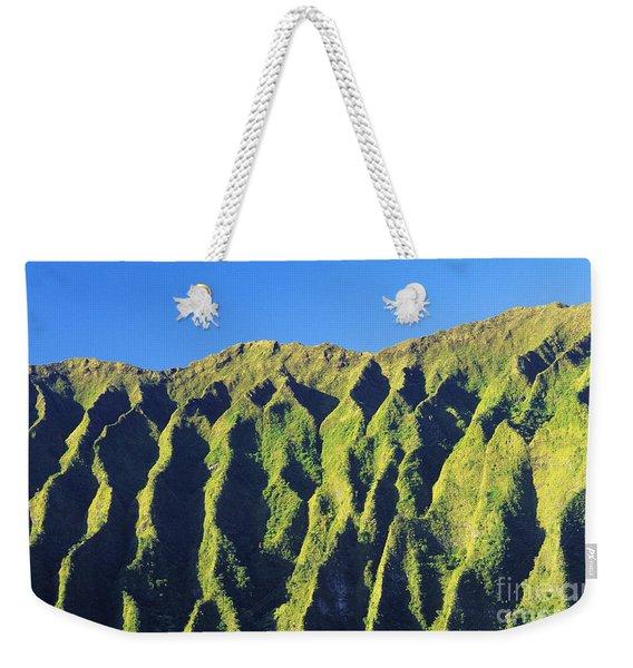 Oahu Koolau Mountain Weekender Tote Bag