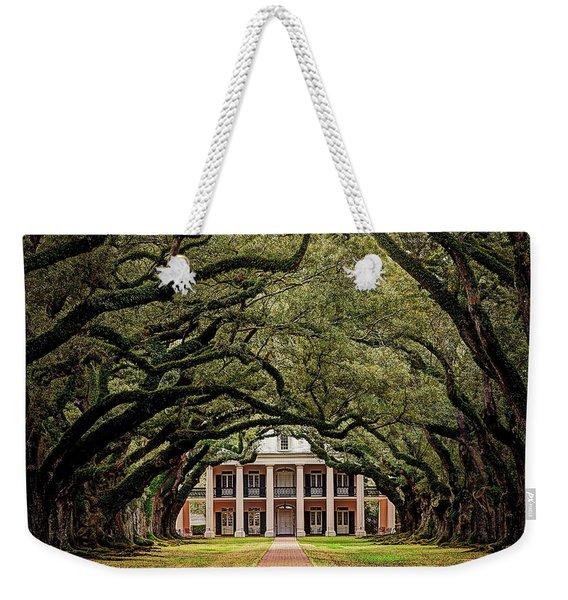 Oak Alley Plantation Weekender Tote Bag