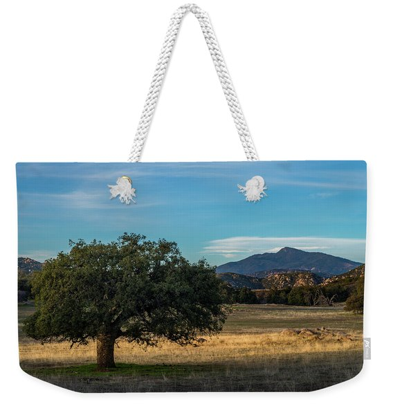 Oak And Cuyamaca Weekender Tote Bag