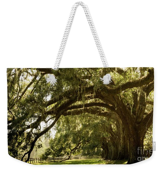 Oak And Moss Weekender Tote Bag