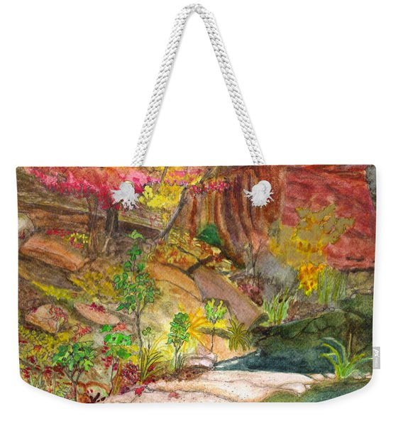 Oak Creek West Fork Weekender Tote Bag