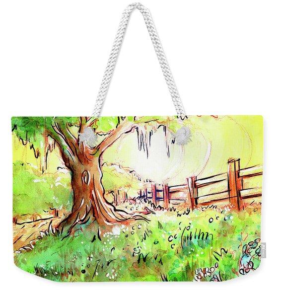 Oak Tree Hill Weekender Tote Bag