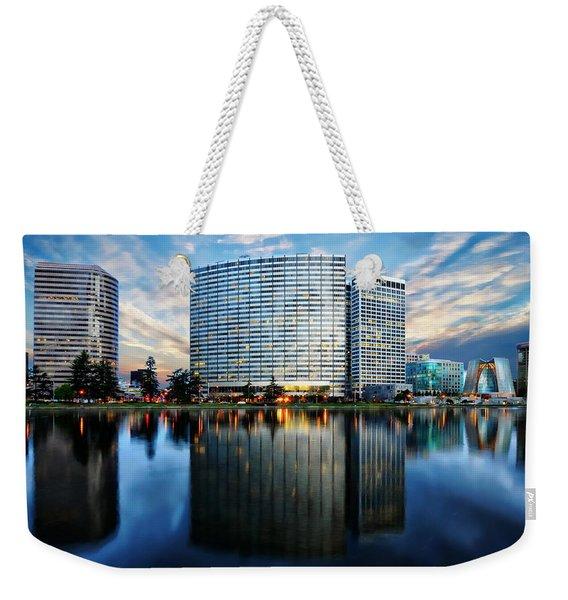 Oakland, California Cityscape Weekender Tote Bag