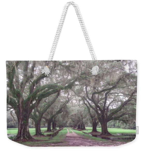 Oaks In Laurel Hill Park, Mount Pleasant, Sc Weekender Tote Bag