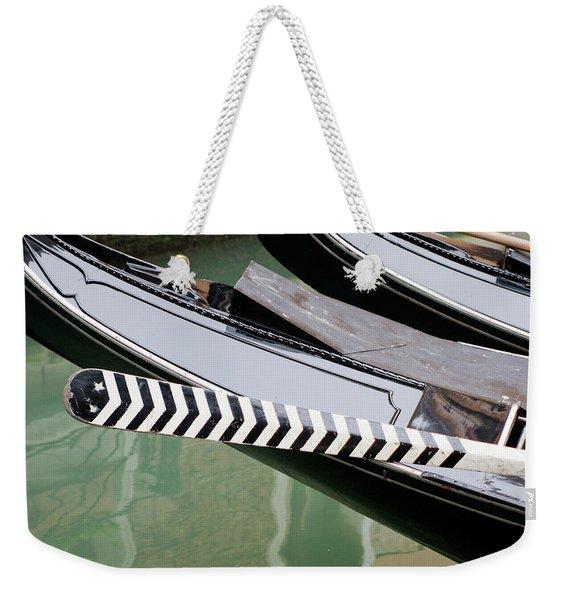 Oar Gondola Venice Weekender Tote Bag