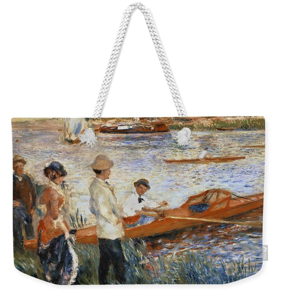 Oarsmen At Chatou Weekender Tote Bag