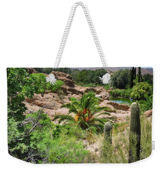 Oasis Weekender Tote Bag