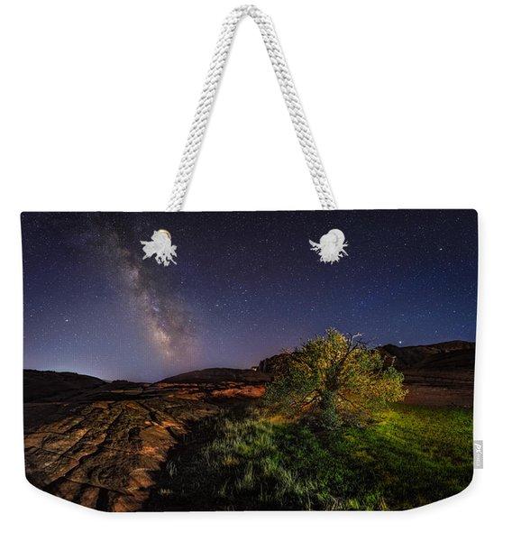 Oasis Milky Way Weekender Tote Bag