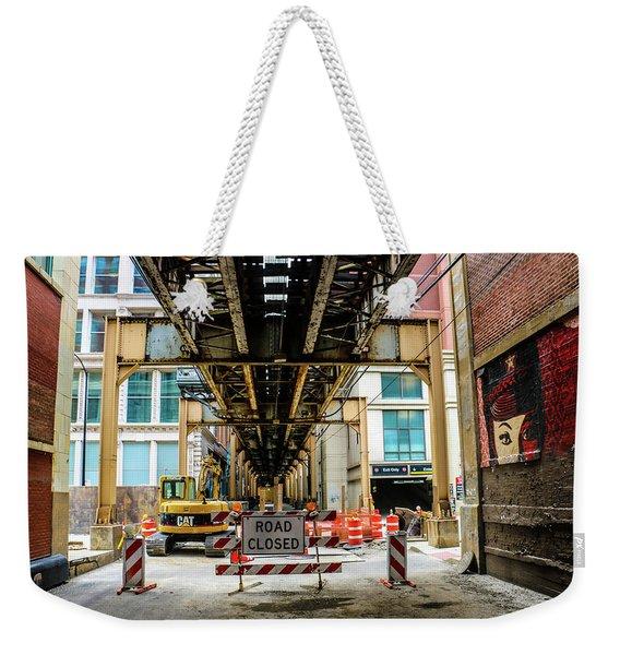 Obey The Signs Weekender Tote Bag