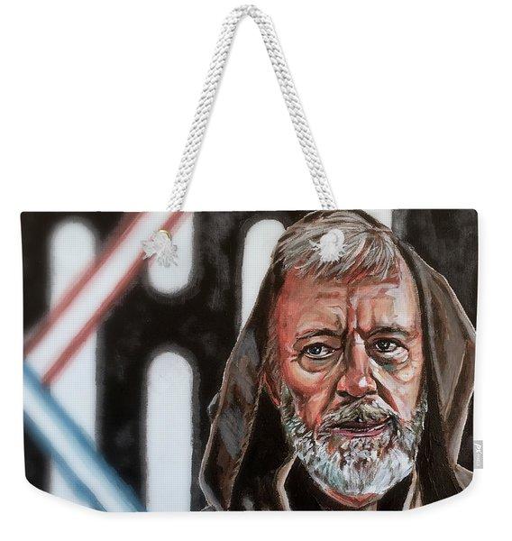 Obi-wan Kenobi's Last Stand Weekender Tote Bag