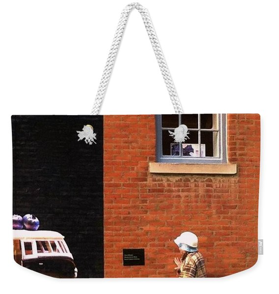 Observing Building Art Weekender Tote Bag