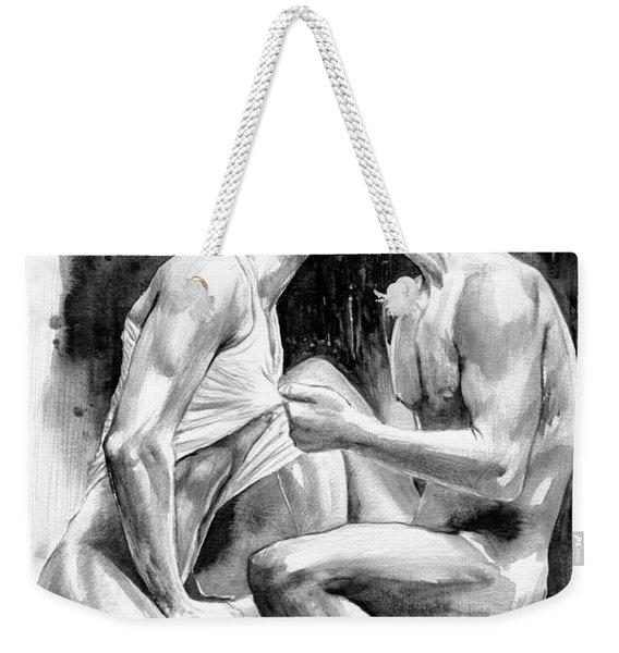 Obsession Night Weekender Tote Bag