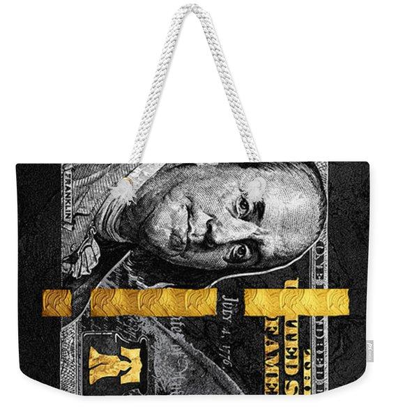 Obsidian Franklin Weekender Tote Bag