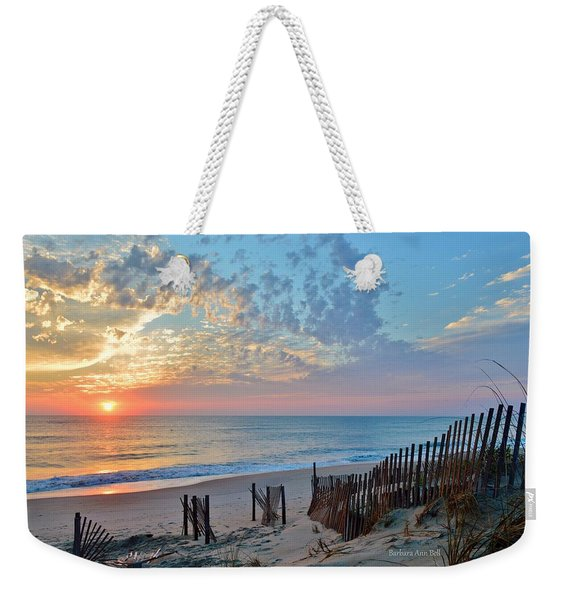 Obx Sunrise September 7 Weekender Tote Bag