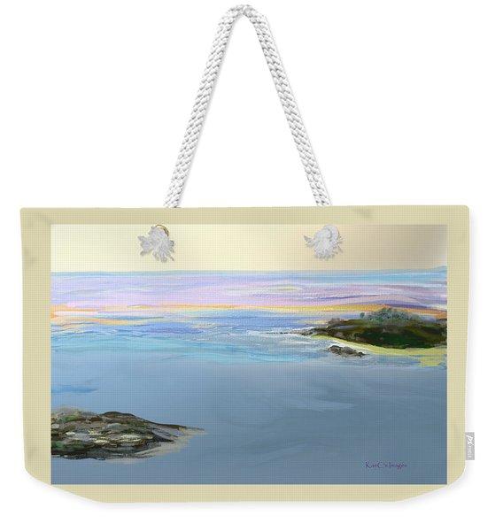 Ocean 2 Weekender Tote Bag