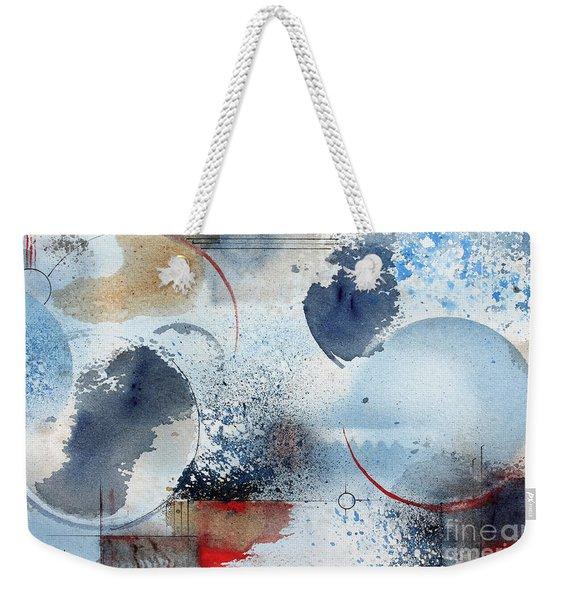 Ocean Blue Weekender Tote Bag