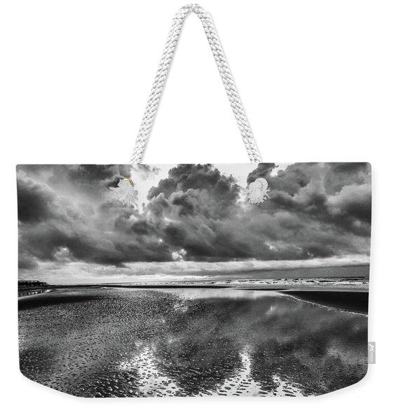 Ocean Clouds Reflection Weekender Tote Bag