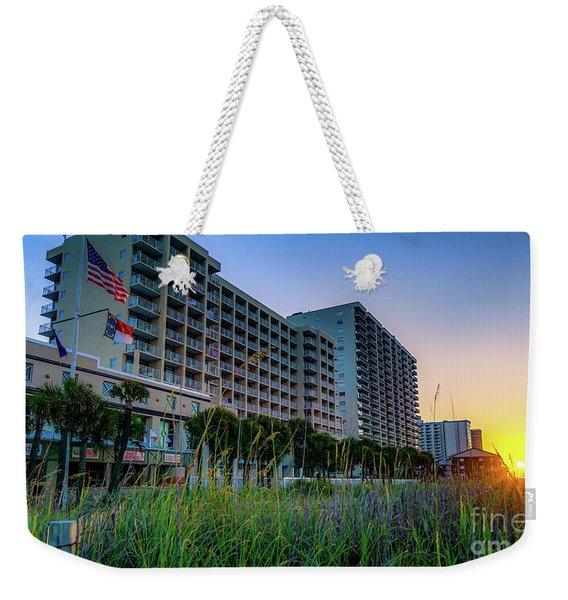 Ocean Drive Sunrise North Myrtle Beach Weekender Tote Bag