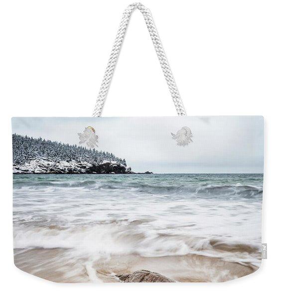 Ocean Flows Weekender Tote Bag