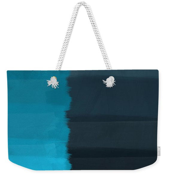 Ocean Front Walk- Art By Linda Woods Weekender Tote Bag