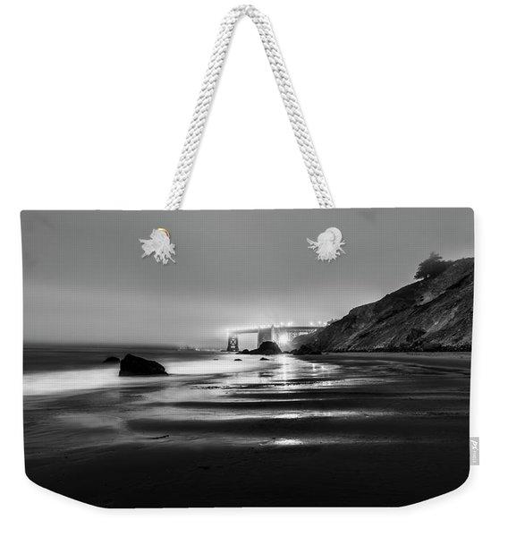 Ocean Rhythm Weekender Tote Bag