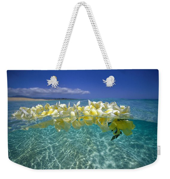 Ocean Surface Weekender Tote Bag