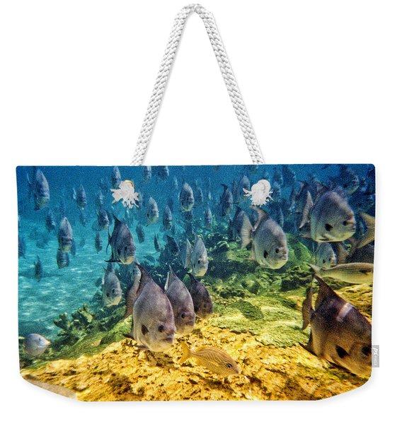 Oceans Below Weekender Tote Bag