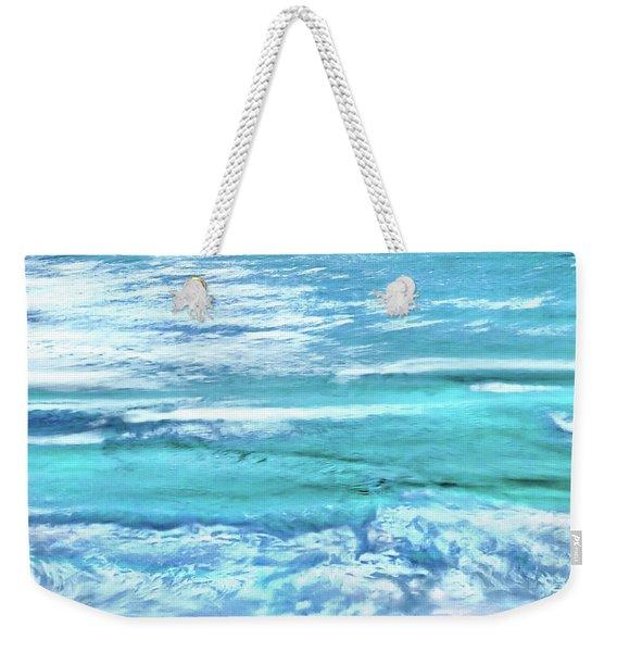 Oceans Of Teal Weekender Tote Bag