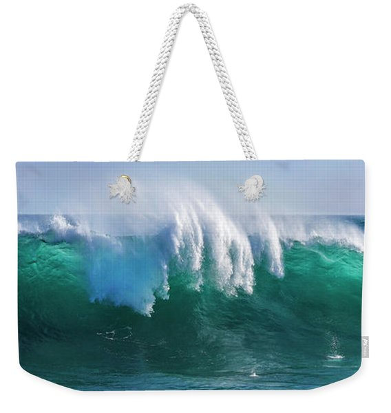 Ocean's Roar Weekender Tote Bag