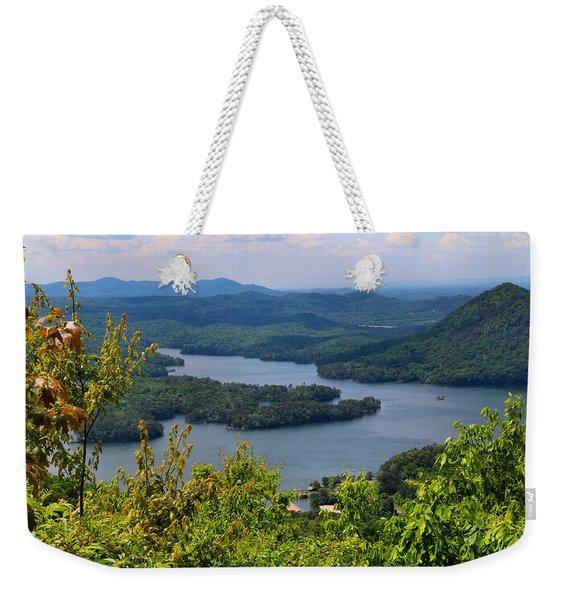 Ocoee Lake 2 Weekender Tote Bag