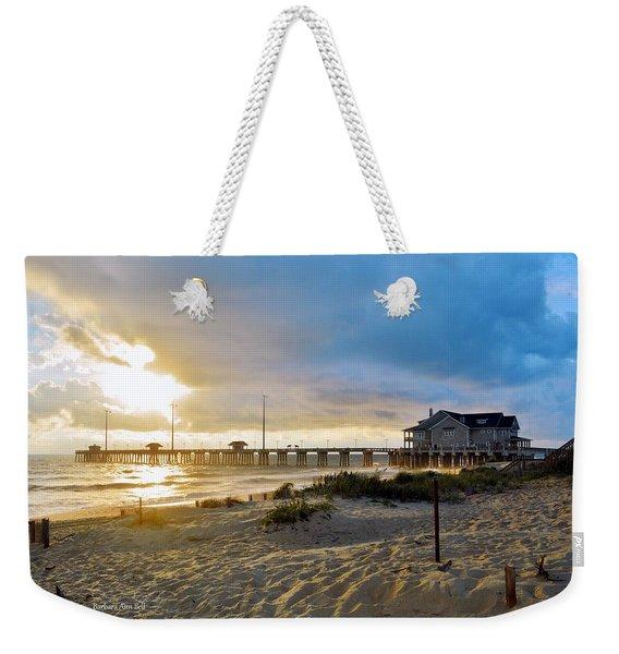 October 3 2016 Obx Sunrise Weekender Tote Bag