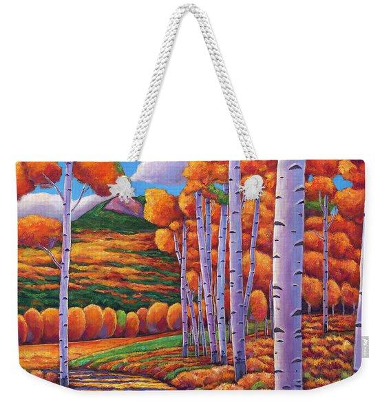 October Enclave Weekender Tote Bag