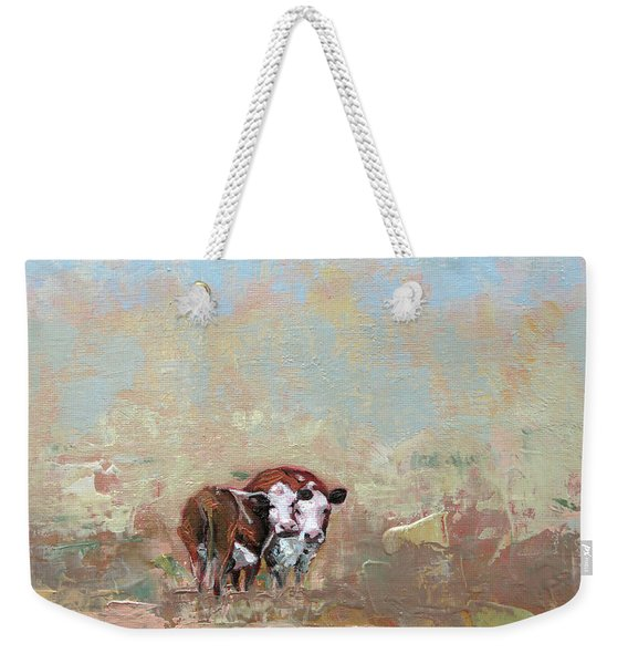 October Mist Weekender Tote Bag