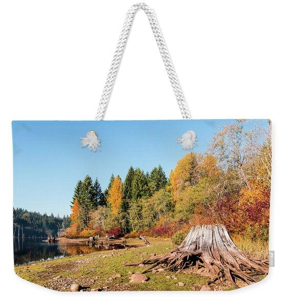 October On The Lake Shore Weekender Tote Bag