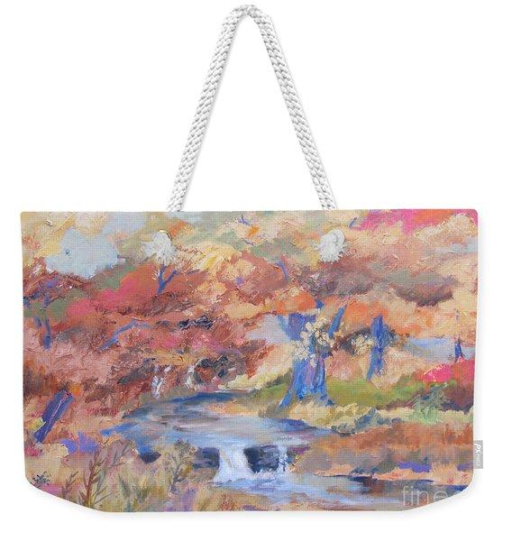 October Walk Weekender Tote Bag