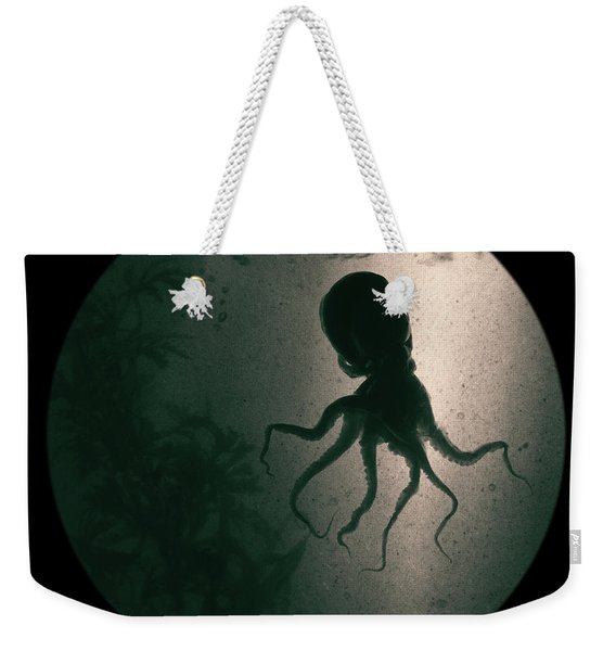 Weekender Tote Bag featuring the photograph Octopus by Clayton Bastiani