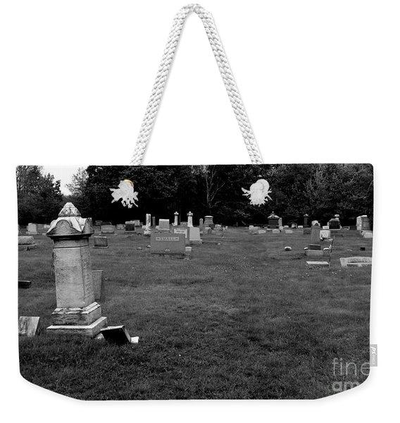 Odd Fellows Cemetery Weekender Tote Bag