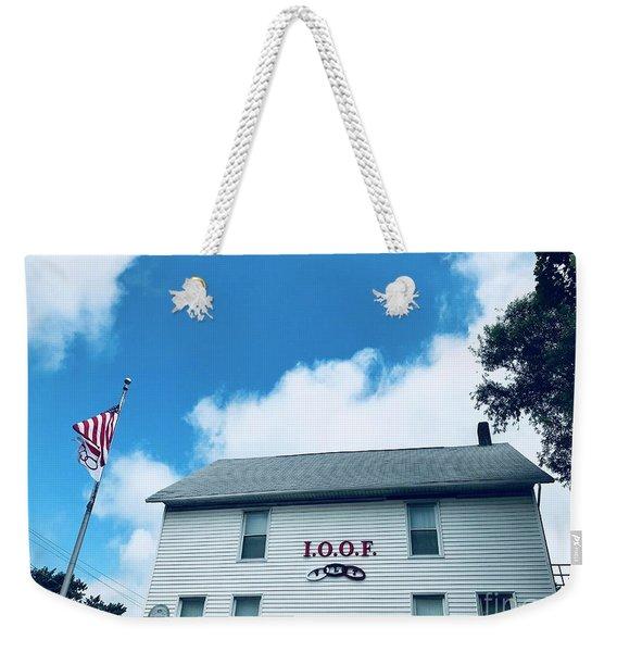 Odd Fellows Lodge Greentown Ohio Weekender Tote Bag