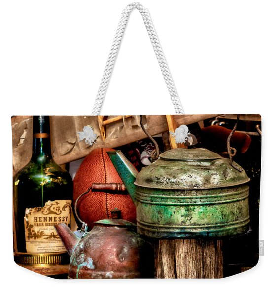 Odds And Ends Weekender Tote Bag