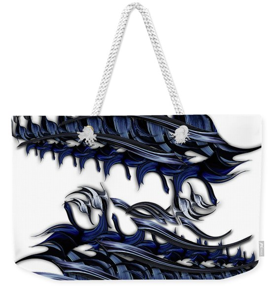 Ode To Aesthetic Ego Weekender Tote Bag