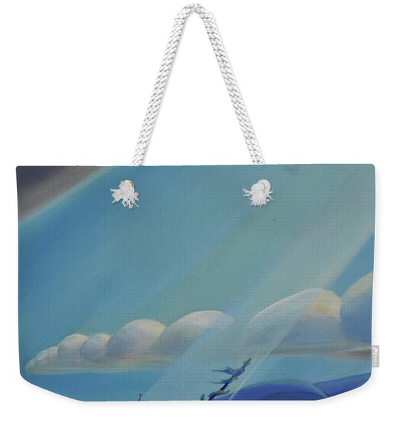 Ode To The North II - Left Panel Weekender Tote Bag